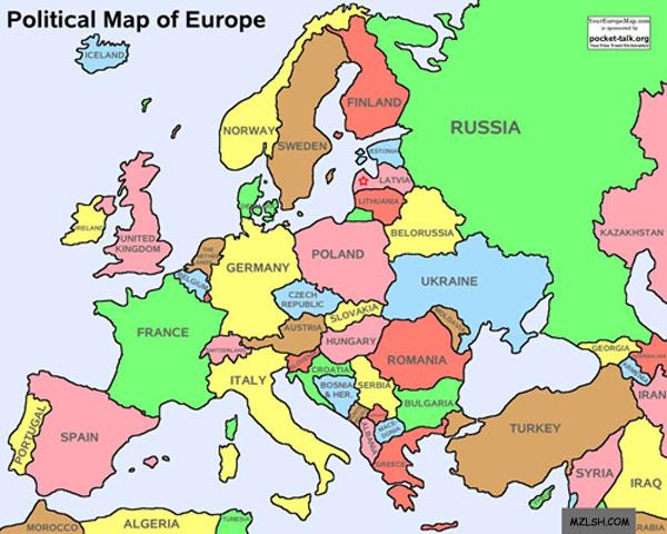 欧盟全景图